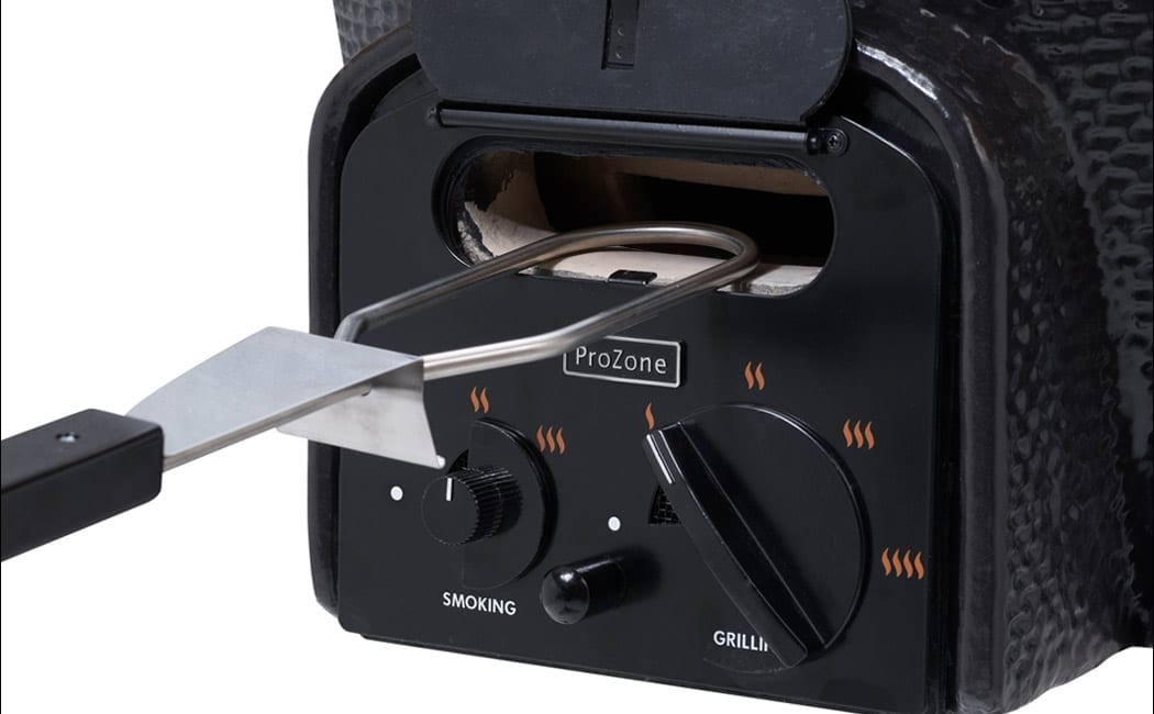 Electric Charcoal Lighter Vision Grill Feature