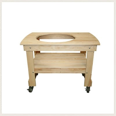 Ordinaire Small Cypress Wood Kamado Grill Table