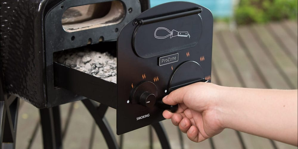 vision grill kamado charcoal temperature control