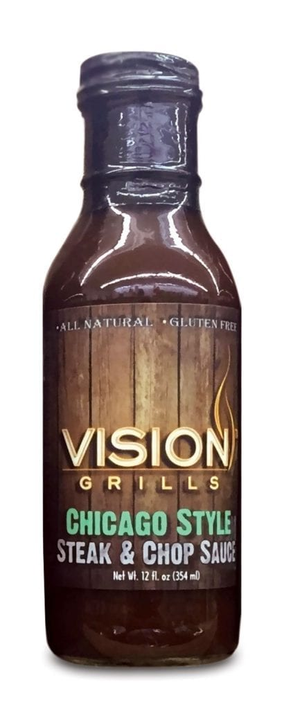 chicago style steak sauce sauces and rubs vision grills