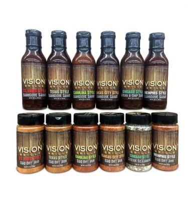 Vision Grills - Sauces & Rubs