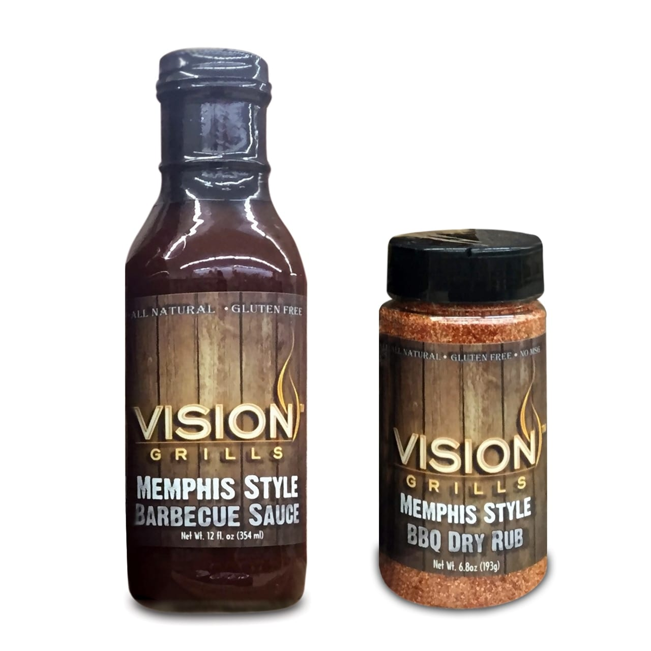 Memphis Style Barbecue Sauce & Dry Rub