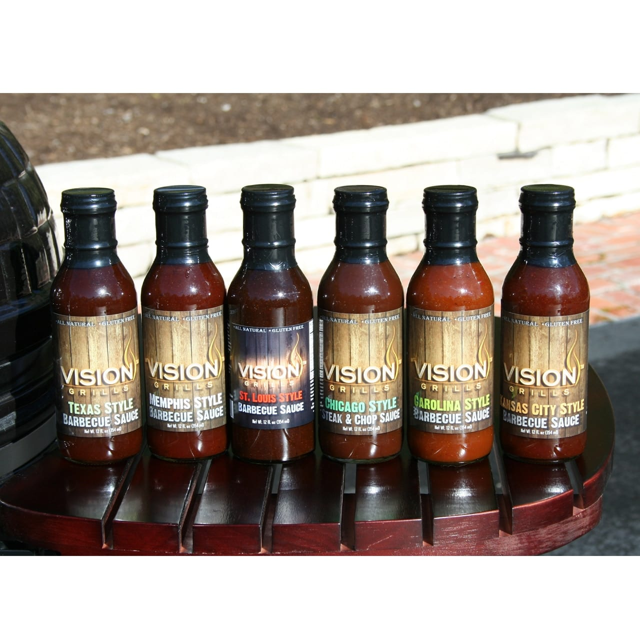 Vision Grills Barbecue Sauces